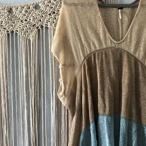 Free people knitted cover up!